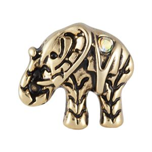 Picture of Gold Elephant Charm